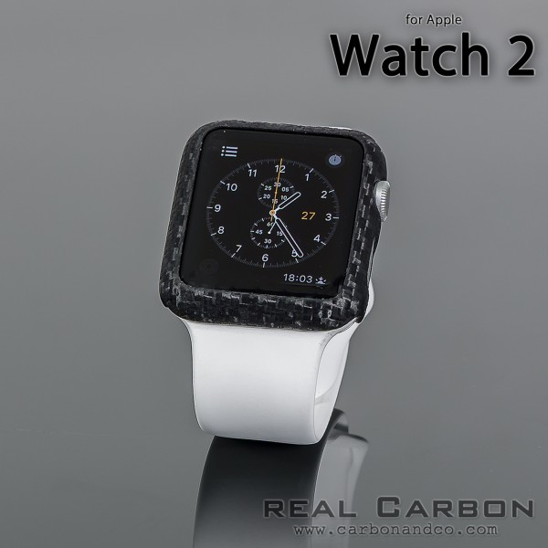 Carbon Cover Apple Watch 2 42 mm